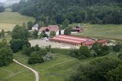 Reitanlage Kohlweisshof - Luftaufnahme